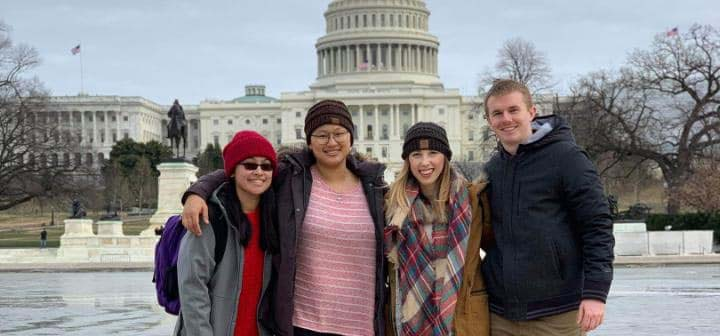 PT students in Washington D.C.