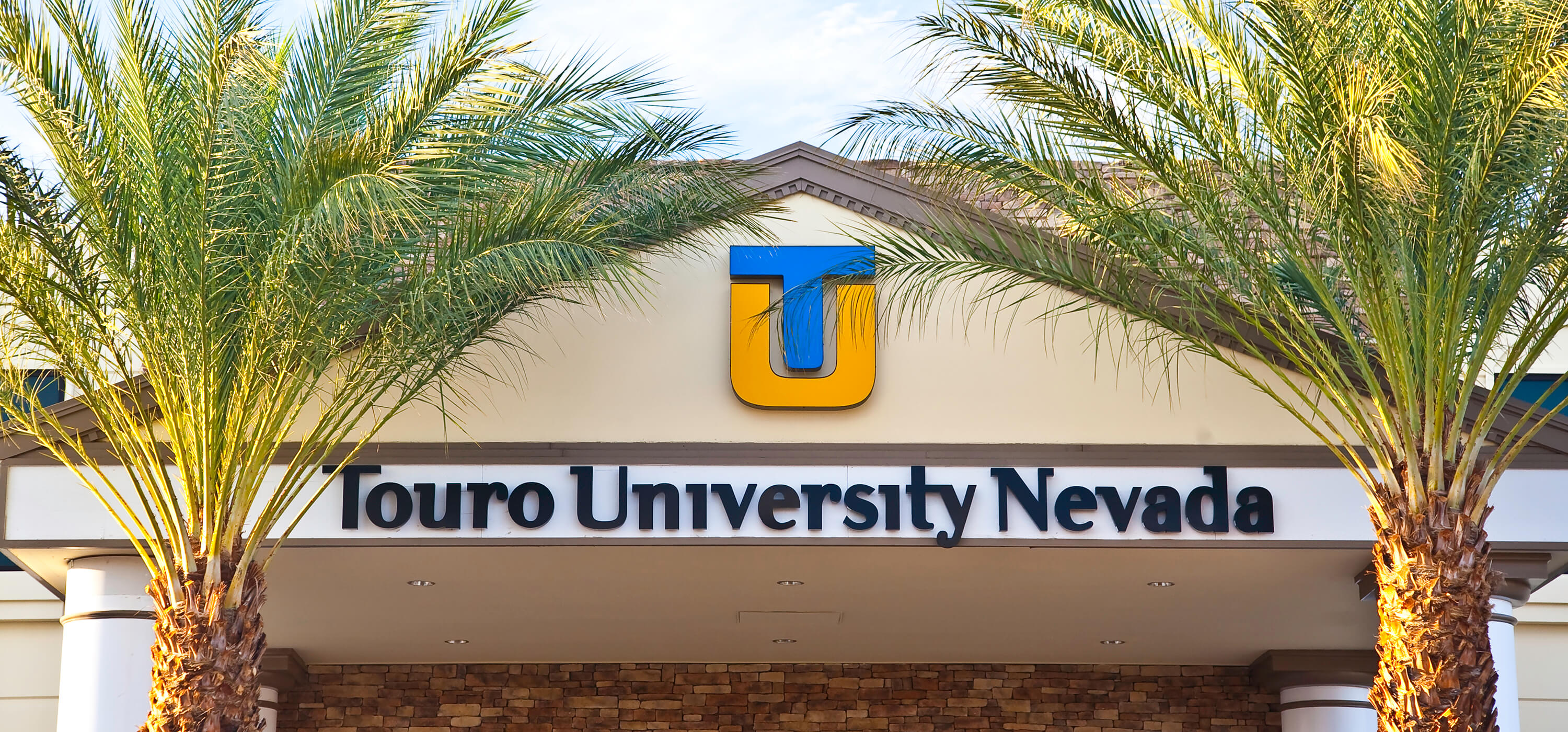 The sign located at the entrance to Touro Nevada.