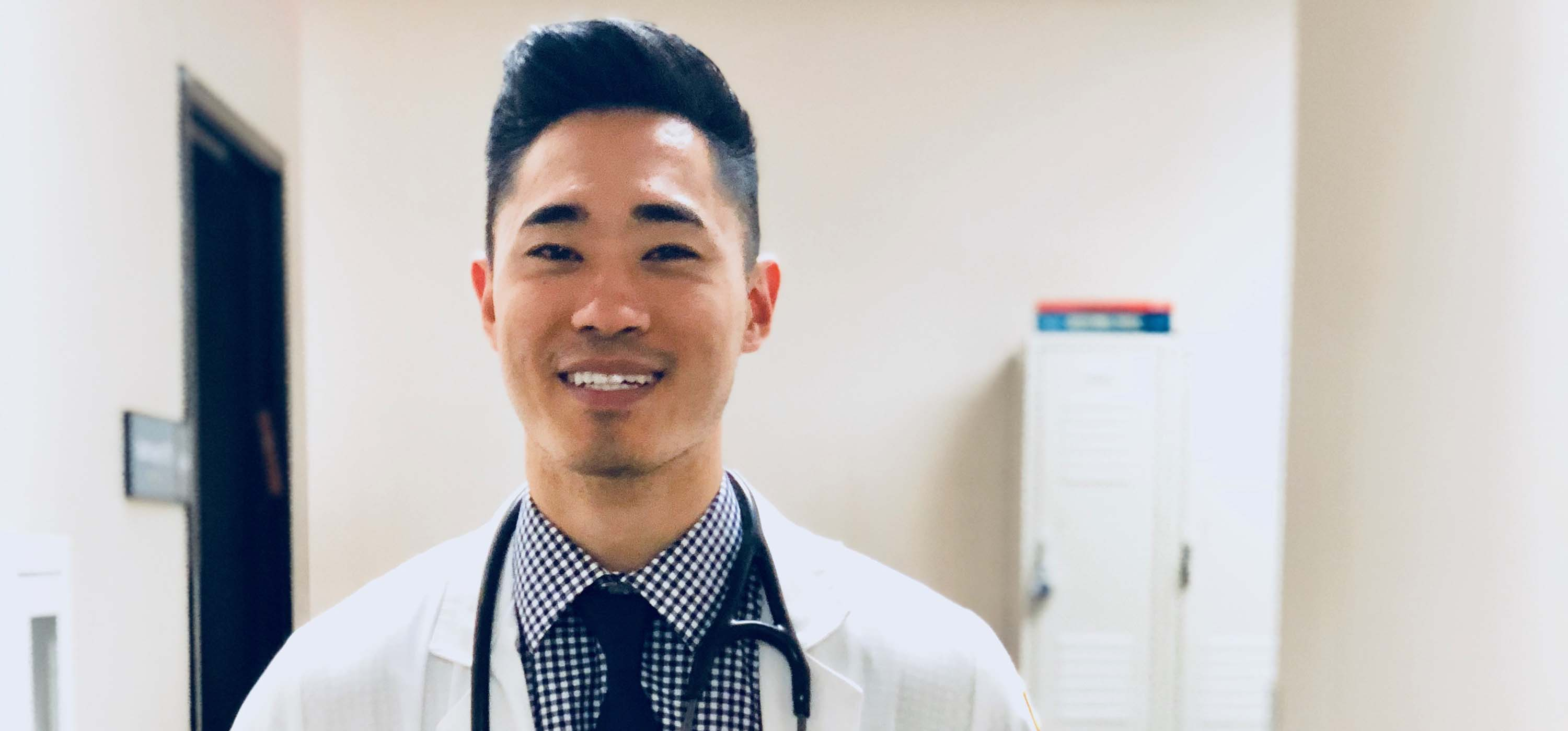 Physician Assistant Studies student James Kim.