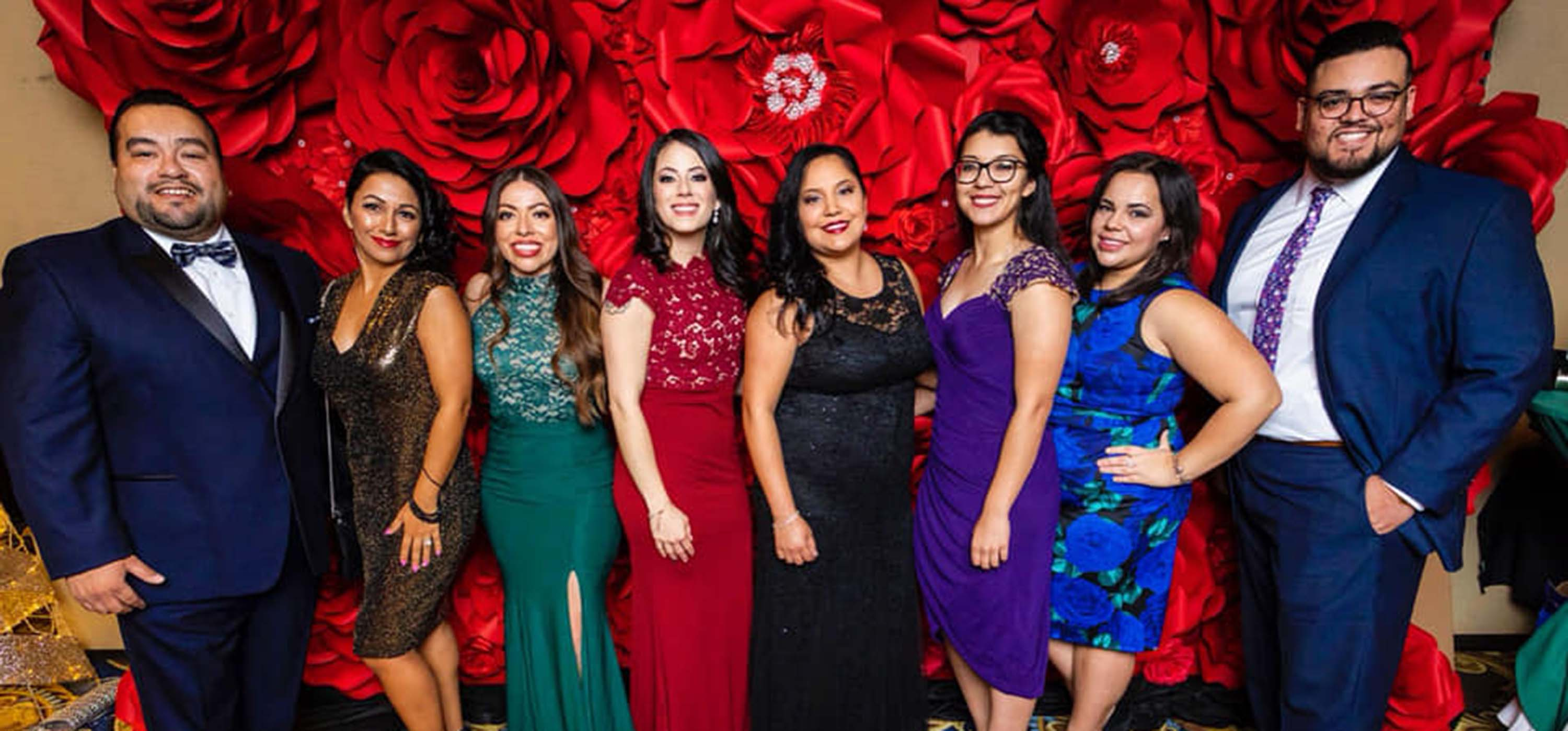 Members of Touro University Nevada's LMSA chapter.