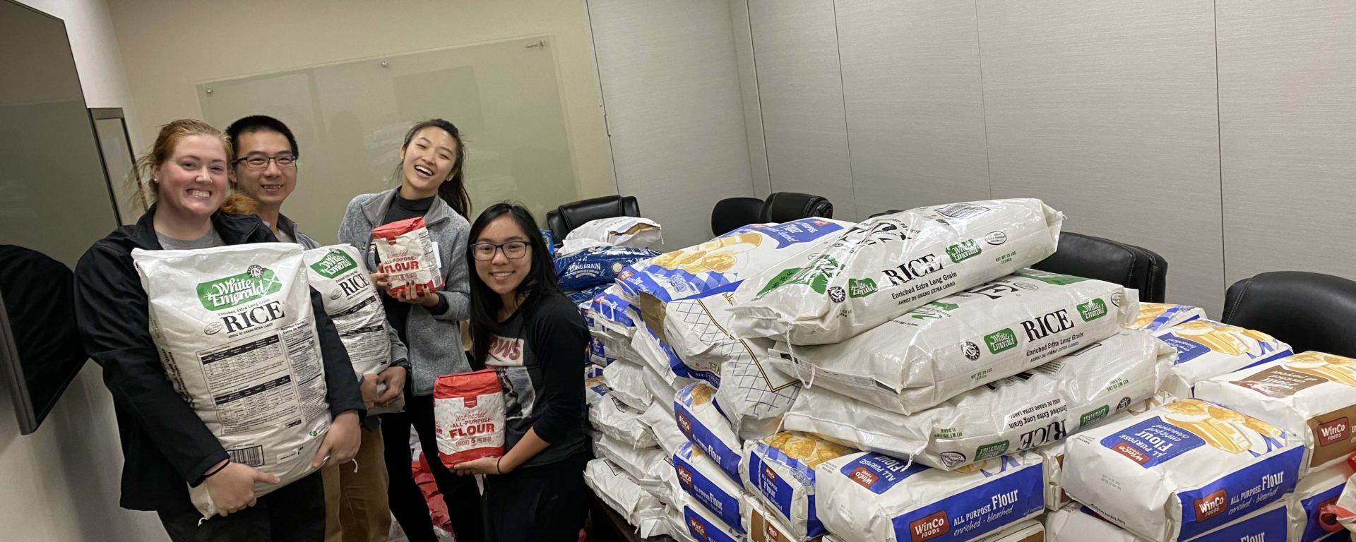 The Touro University Nevada community lived its mission of service to humanity thanks to two great fundraising initiatives that led to thousands of dollars and canned food donations in early December.