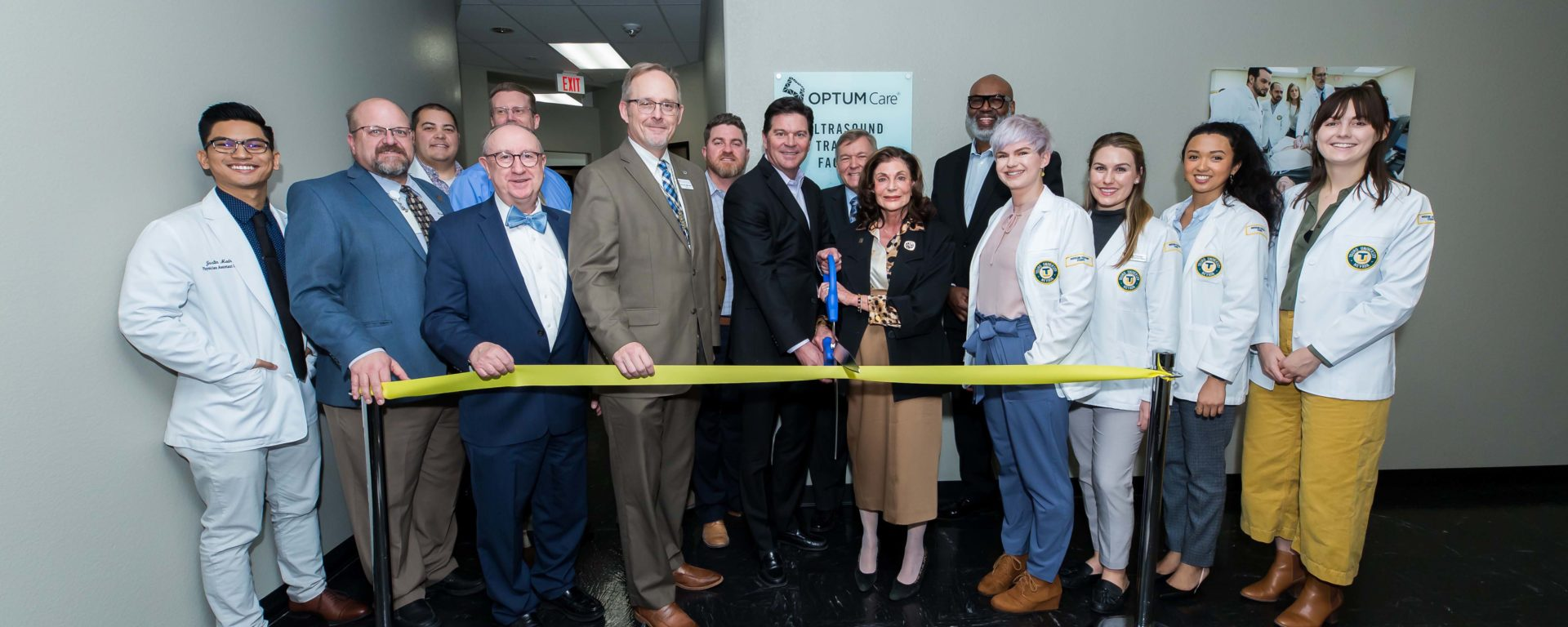 A special ribbon cutting was held to celebrate the center's grand opening and was attended by the Touro College and University System Leadership, Dr. Robert McBeath, President of OptumCare Nevada, several healthcare professionals and students, and members of the Southern Nevada community.