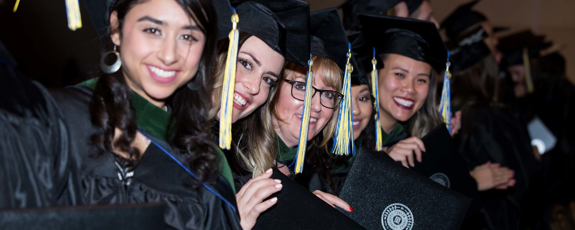 Touro University Nevada celebrated the academic achievements of students from the Schools of Physician Assistant Studies (PA), Nursing, and Education during Winter Commencement at the Paris Las Vegas on Nov. 3.